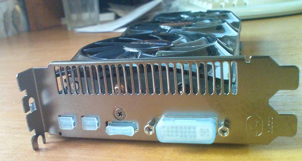 GIGABYTE Radeon HD7870 вид планки