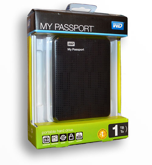 WD My Password 1TB USB 3.0